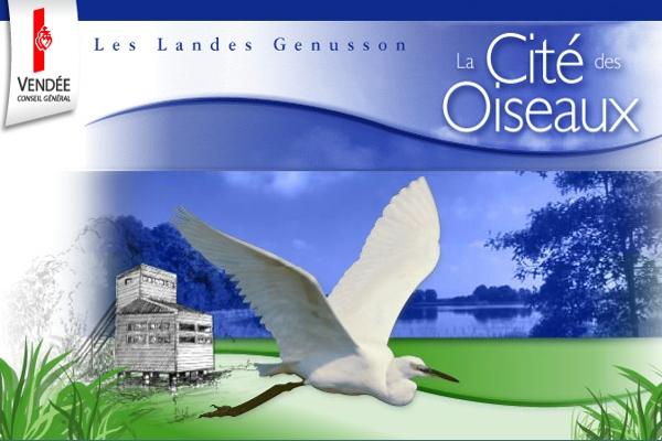 la Cité des Oiseaux aux Landes Genussons