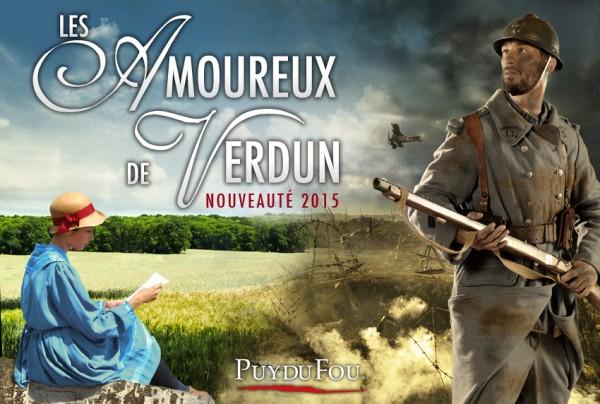 Nouveauté spectacle Puy du Fou 2015 les amoureux de Verdun
