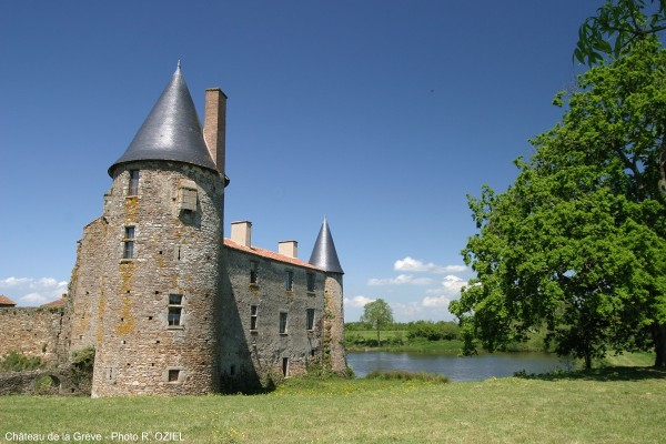 Visite du chateau de la greve en Vendée