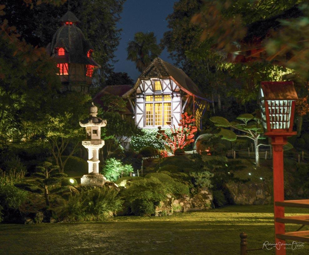 Visites nocturnes au parc oriental de maulévrier