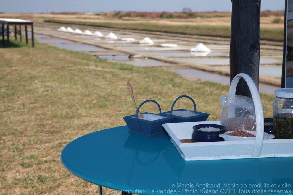 Fleur de sel de Noirmoutier marais salant