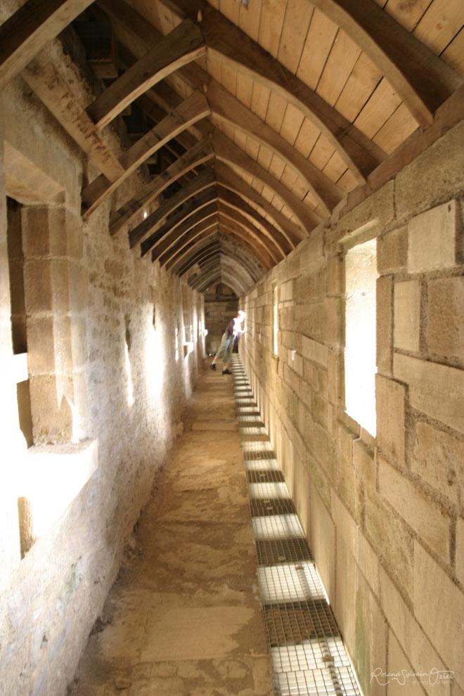 Chemin de ronde Château de Sigournais en Vendée