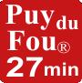 Gîtes à 27 minutes du Puy du Fou