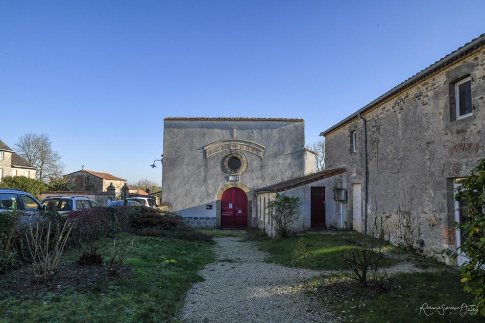Temple protestant Mouchamps