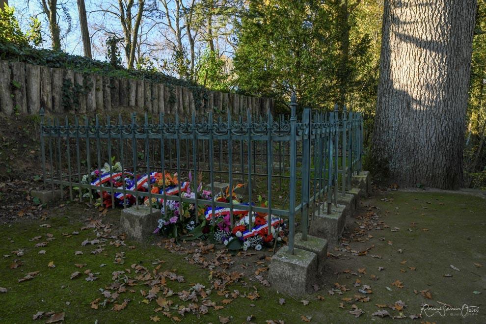 Tombe de Georges Clémenceau. Photo Roland OZIEL photographe.