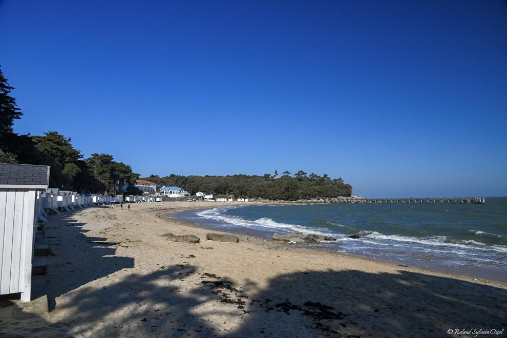 Cabanes de plage de Noirmoutier