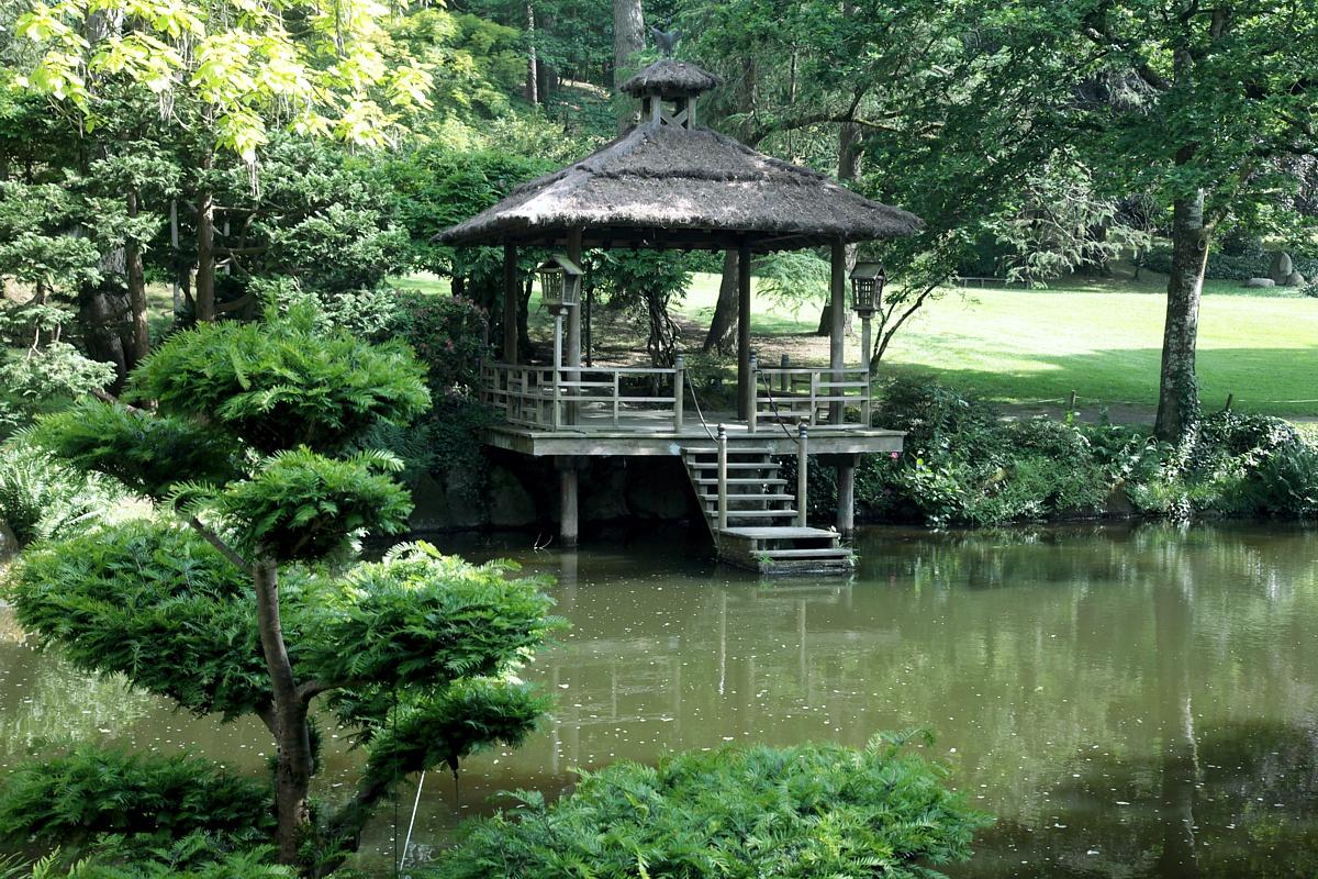 Parc Oriental de Maulévrier ou Jardin Japonnais visite incontournable à partir de nos gîtes