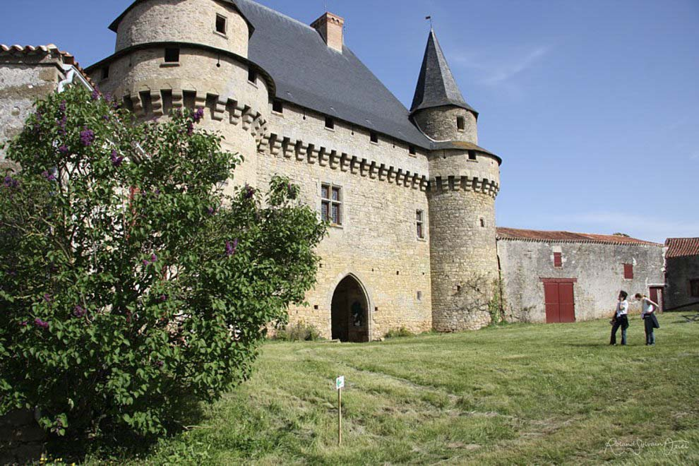 Château de Sigournais en Vendée